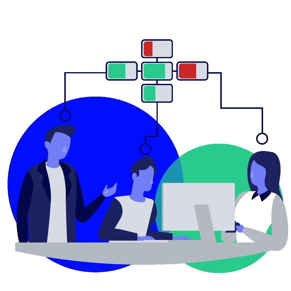 Werk samen aan het vijfkrachtenmodel